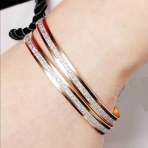 ❤️Fashion Bangle Gold Plated Stainless Steel❤️